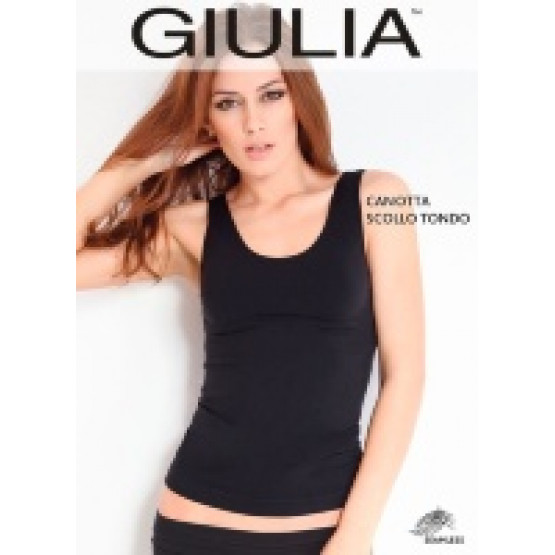 GIULIA Canotta Scollo Tongo майка жен