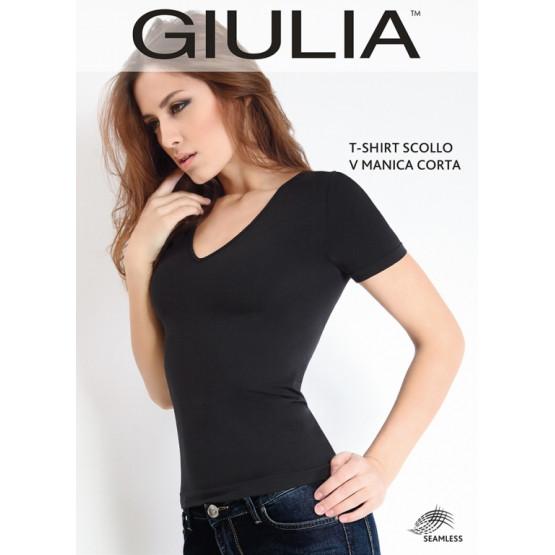 GIULIA T-Shirt Scollo V M/C джемпер жен