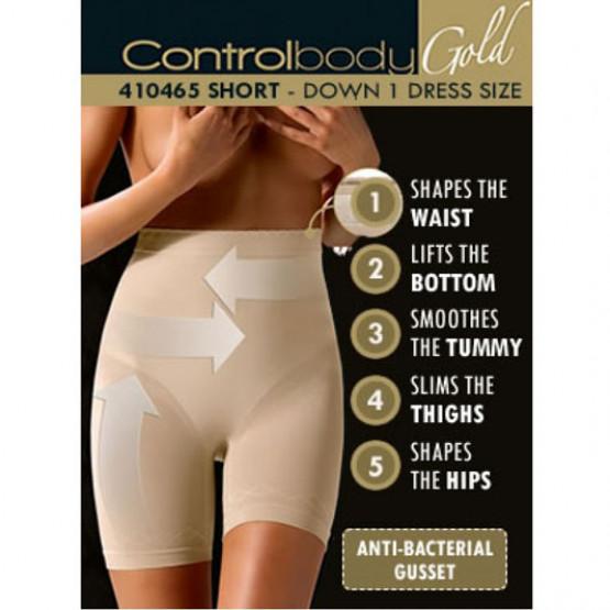 Intimidea Корректирующие трусы-шорты с высокой талией Intimidea IM SLIP CONTROL BODY GOLD