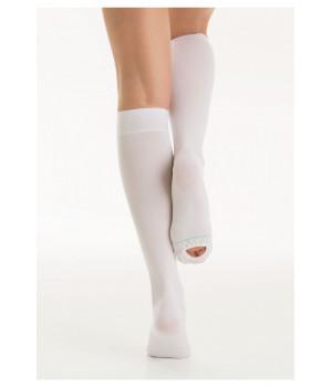 Компрессионные ГОЛЬФЫ на ОПЕРАЦИЮ Роды К1, антиэмболические с открытым носком
