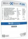 RELAXSAN Компрессионные ЧУЛКИ для ОПЕРАЦИИ Родов, АНТИЭМБОЛИЧЕСКИЕ К2 на резинке с открытым носком (мягкая упаковка) Релаксан М0370А