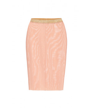 """SKIRT LE JOURNAL INTIME """"INVISIBLE"""" TRANSPARENT (FLESH COLOR)"""