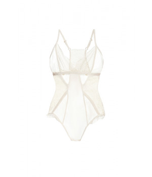 "BODYSUIT LE JOURNAL INTIME ""EMPRESS FIKE"" (IVORY)"