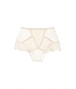 "PANTS BRIEFS LE JOURNAL INTIME ""EMPRESS FIKE"" HIGH-WAISTED BRIEFS (IVORY)"