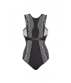 BODYSUIT SEXY LE JOURNAL INTIME FOLIES BERGERE (BLACK WITH LUREX)