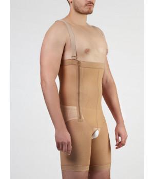 Корректирующее белье для мужчин - высокие штаны до середины бедра мужские