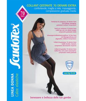 476 Колготки компрессионные Скудотекс , антиварикозные (15-18 mmHg) 70 den для беременных